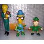 Lote De Bonecos Simpsons Leprechaun, Mr. Burns, Caidaço Boy Original