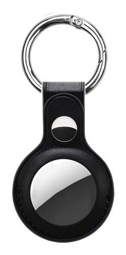 Capa Protetora De Couro Para Apple Airtag Rastreador Premium