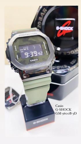 Relógio Casio G-shock Gm-5600b-3dr  (camuflado)