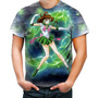 Camiseta Camisa Makoto Kino Sailor Jupiter Sailor Moon 1 Original