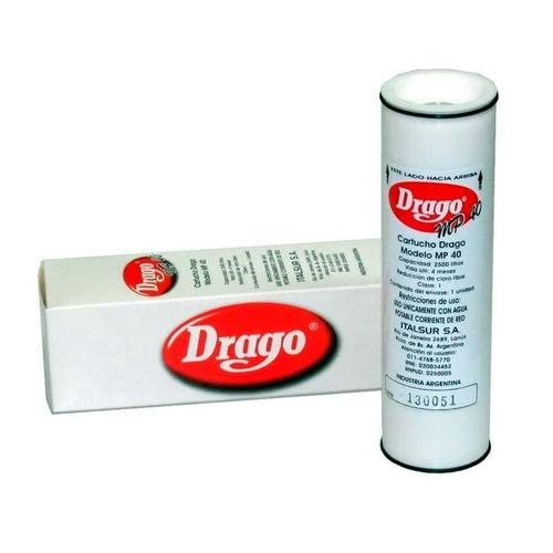 Filtro Original De Repuesto Para Purificador De Agua Drago Aprobado Anmat Distribuidores Oficiales Drago