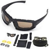 Lentes Tácticos Daisy X7 Deportivos Goggle Para Motocicleta