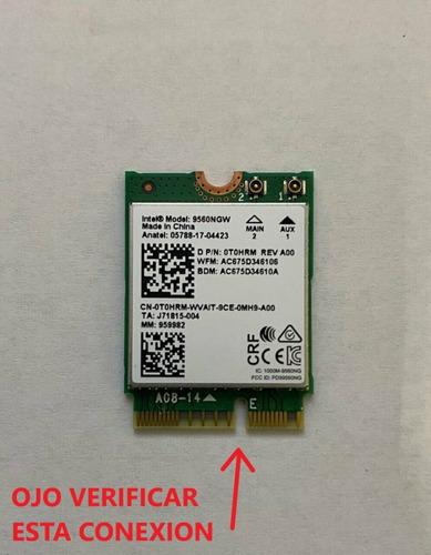Intel Wireless-ac 9560ngw Ngff Dual Band 802.11ac 1.73gbps
