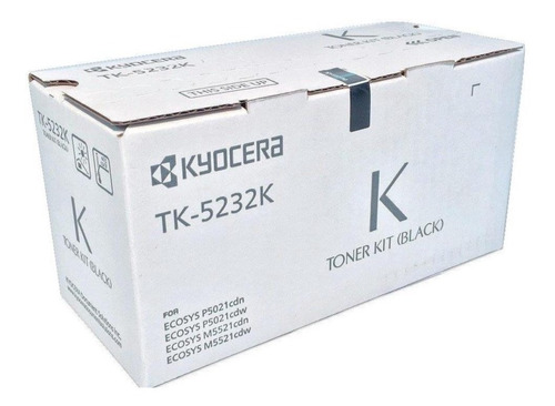 Toner Tk-5232k Kyocera Original Para P5021cdn/cdw
