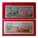 Paquete 5 Unidades Billete 5 Colones Costa Rica 1989-1992