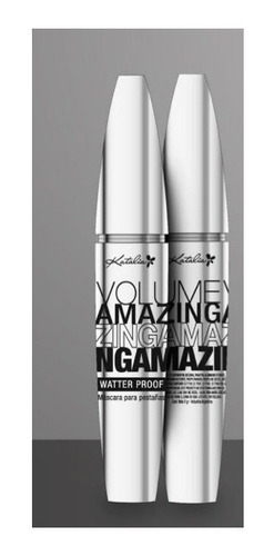 Katalia Mascara De Pestañas Volume Amazing Rimel Waterproof
