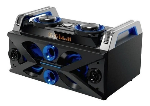 Equipo Musica Daewoo Audio Usb Bluetooth Radio Led Mix Dj 50