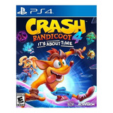 Crash Bandicoot 4: Its About Time Standard Edition Activision Ps4 Digital