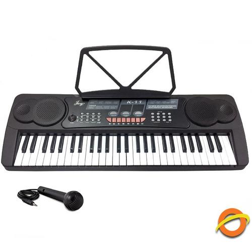Teclado Musical Organo Piano Profesional Microfono Efectos