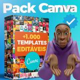 +1.000 Templates Pack Canva Social Media Feed Stories+ Bônus