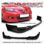 Lip Frontal Para Mazda 3 2006-2010 Importado Bajo Pedido Mazda 3