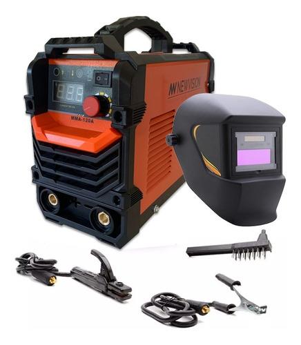 Maquina Soldar Inverter Soldadora Tig Mma 120 Amp + Mascara