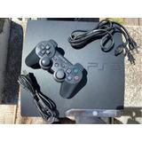 Playstation 3 Slim 160gb,joystick , Accesorios Y Juegos Pes