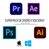 Pack Diseño Y Edicion