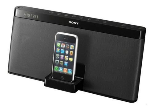 iPod Dock Sony Portatil, Bateria, Radio Fm, C. Remoto, Aux