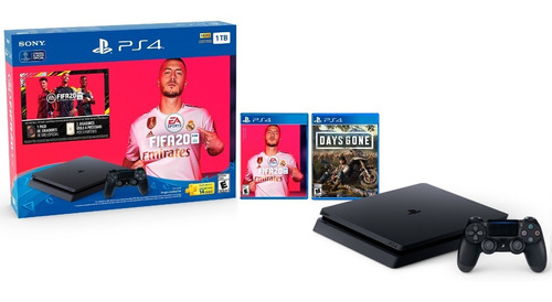 Consola Ps4 1tb Fifa 20+ Days Gone+ 1 Control Ds4