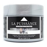 La Puissance Matizador Black Máscara Pelo Rubio Gris X 250ml