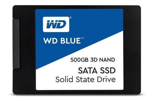 Disco Estado Sólido Wd Ssd Blue 500gb 2.5  Int Sata 3 3d