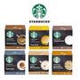 Capsulas Dolce Gusto 2 Caixas Sabores Starbucks + 3 Caixas Sabores Normais Original