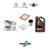 Service 40k Peugeot 3008 1.6 Thp + Bujias + Aceite 3 Filtro