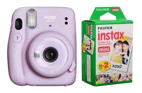 Cámara Fujifilm Instax Mini 11 + 20 Fotos Garantía Oficial