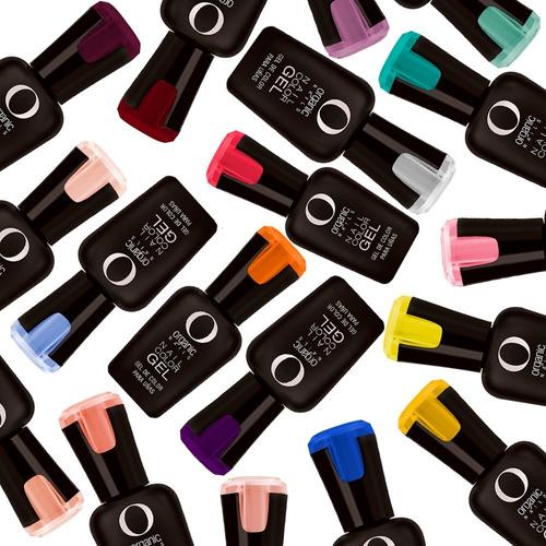 Color Gel Esmalte Uñas 7.5ml 14 Tonos Nuevos Organic Nails