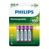 Pila Recargable Aaa 950ma Philips Blister Por 4