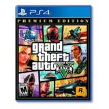 Grand Theft Auto V Premium  Edition- Ps4