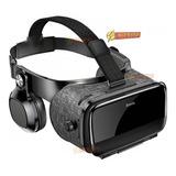 Óculos Vr Realidade Virtual 3d Profissional C/ Fone Envio Já