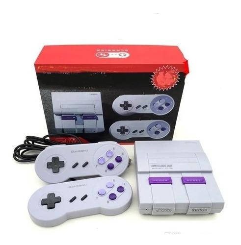 Consola Super Nintendo Mario Hdmi Retro Con 821 Videojuegos