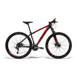 Mountain Bike Gtsm1 Ride New Tsi Aro 29 19  21v Freios De Disco Mecânico Câmbios Gtsm1 Tsi Cor Preto/vermelho