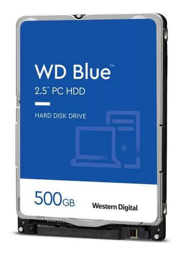 Disco Rígido Notebook Western Digital Blue 500gb 6gb/s Sata3