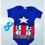 Body Bebê Capitão América Sulakyds Original