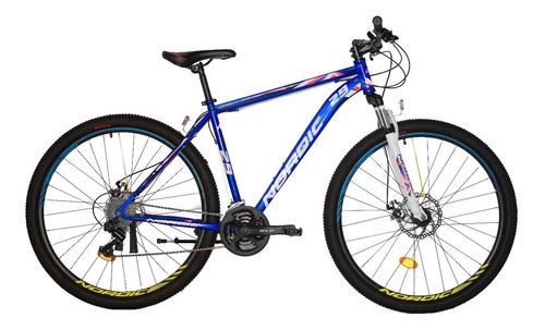 Bicicleta Nordic X1.0 By Slp R29 Shim. 21v Disco Susp+linga