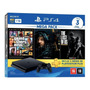 Sony Playstation 4 Slim 1tb Mega Pack: Grand Theft Auto V Premium Edition/death Stranding/the Last Of Us Remastered Cor  Jet Black Original