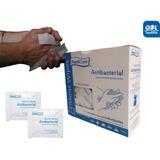 Toallitas Antibacteriales Empaque Individual Caja  C/100 Pzs