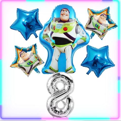 Globos Toy Story , Set X 6 Globos