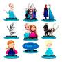 15 Centro De Mesa Frozen Princesa Chá De Bebê Mdf Adesivado Original