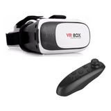Lente Vr Box 2.0 Realidad Virtual 3d + Joystick Gafas