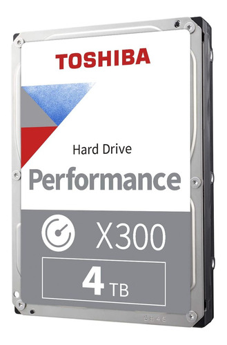 Disco Duro Interno Toshiba X300 Hdwe140xzsta 4tb 7200 Rpm
