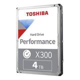 Disco Duro Interno Toshiba X300 Hdwe140xzsta 4tb Plata Y Negro