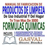 Manual De Fabricación De Productos De Limpieza