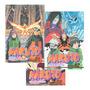 Kit Naruto Gold 3 Volumes Lacrados Original
