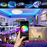 Manguera Luz Tira Led Wi Fi Aplicacion Smart Varios Colores