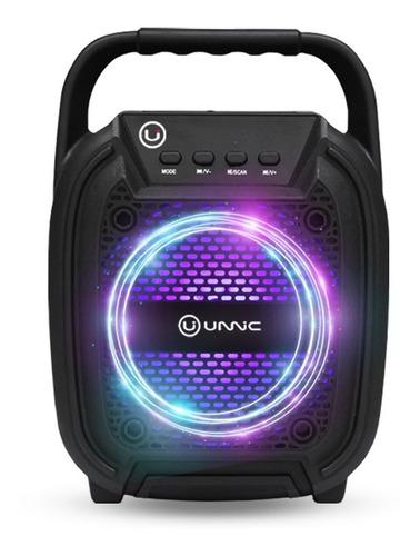 Parlante Portatil Bluetooth Usb Microfono Sd Radio Led Unnic