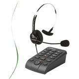 Telefone Headset Intelbras Hsb 40 Telemarketing