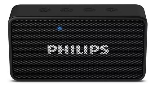 Parlante Philips Portátil Bluetooth Bt60bk/77