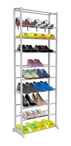 Zapatera De 10 Niveles Rack De Zapatos Organizador Atrix ®
