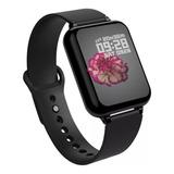 Smartwatch Besoner B57 1.3  Malla  Negra