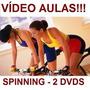 Curso De Spinning Aulas Em 2 Dvds Zxc Original